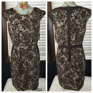 Guess Floral Dress with Lace pockets size 8